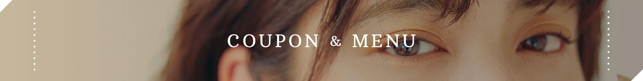 COUPON & MENU